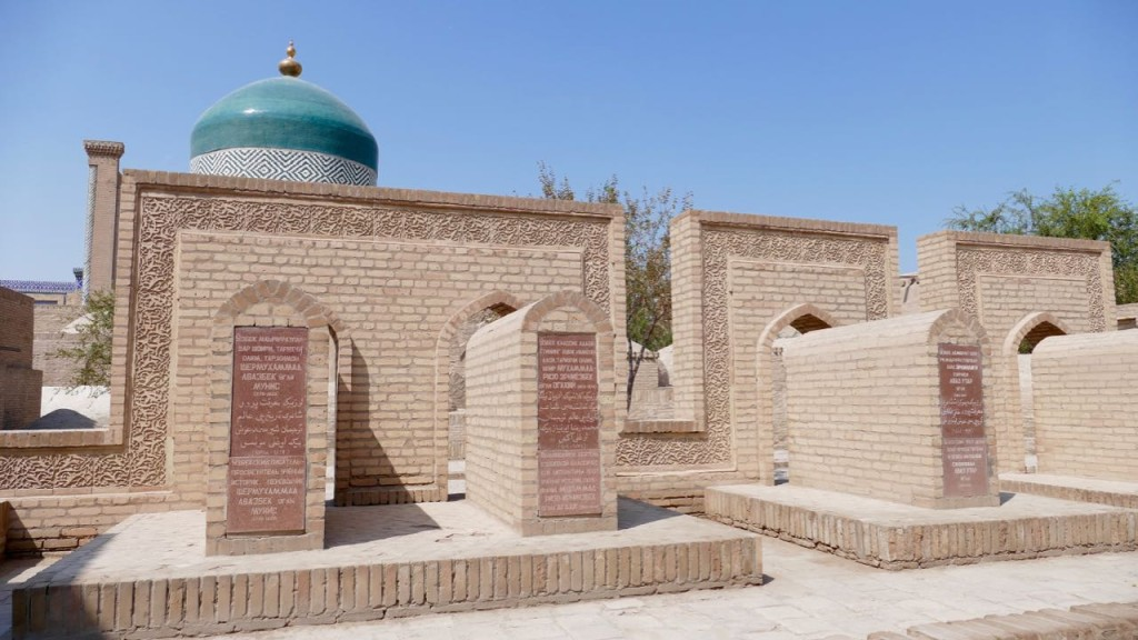 Necropolis in Khiva