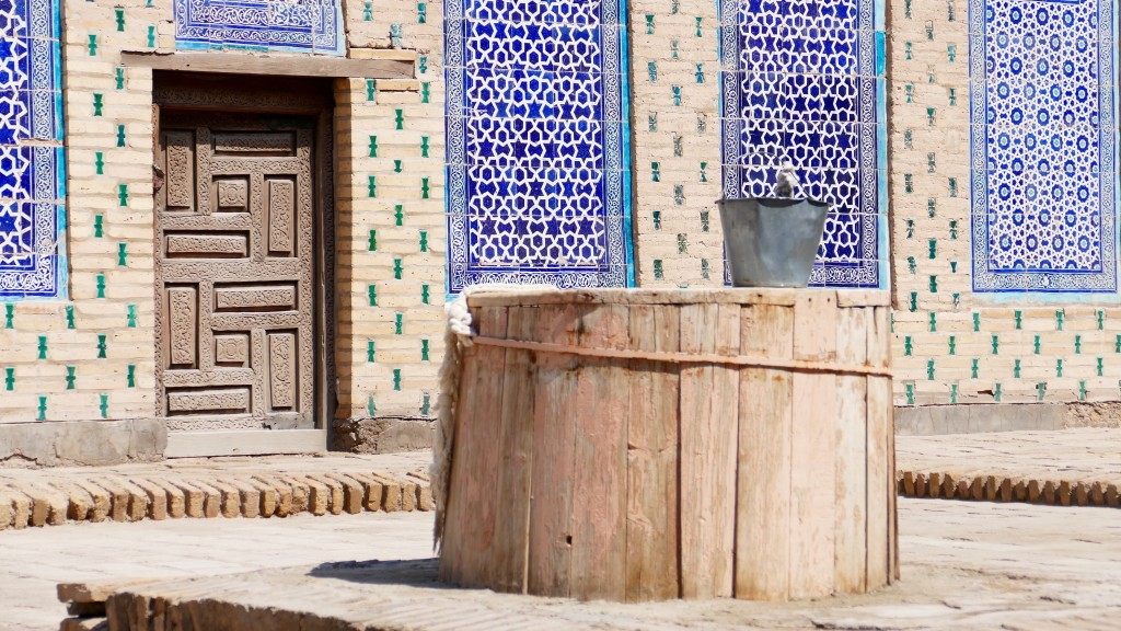 the well at  Ichon-Qala (Itchan Kala) Khiva.