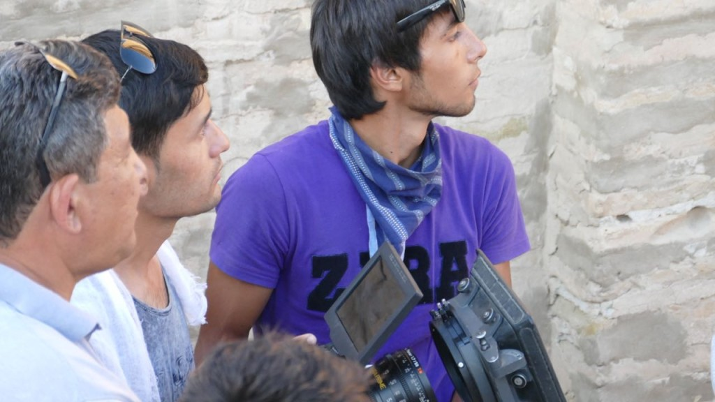 Movie Makers in Khiva.