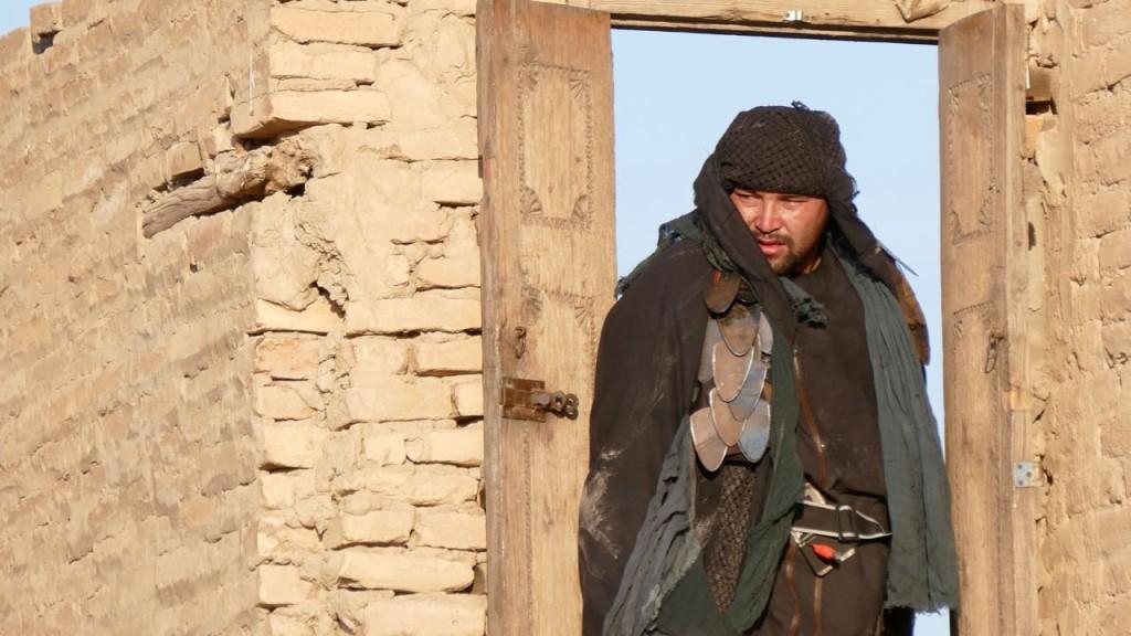 The stuntman in Khiva