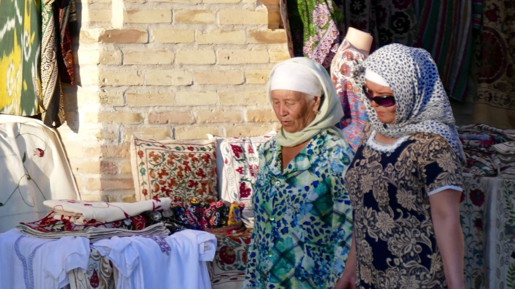 People from Bukhara. The women