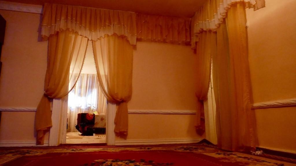 the Uzbek room