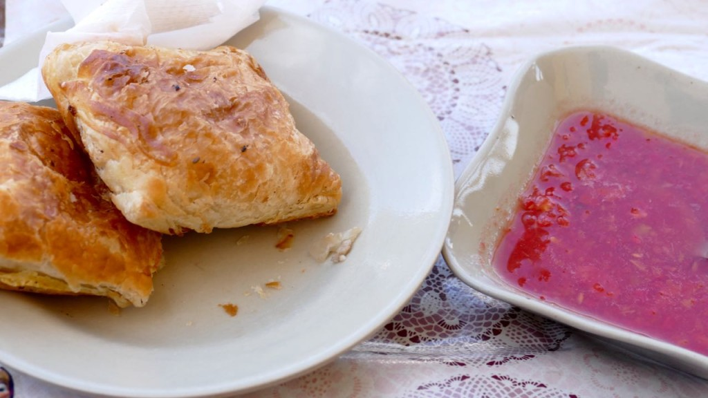 Samsa, a classical Uzbek dish