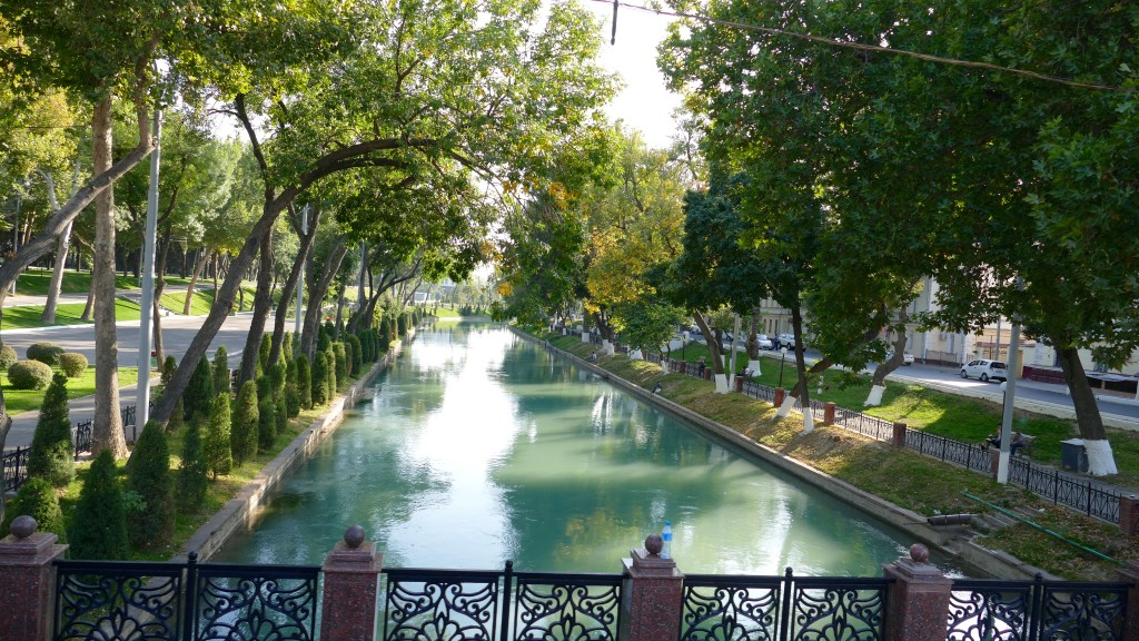Ankhor channel Tashkent