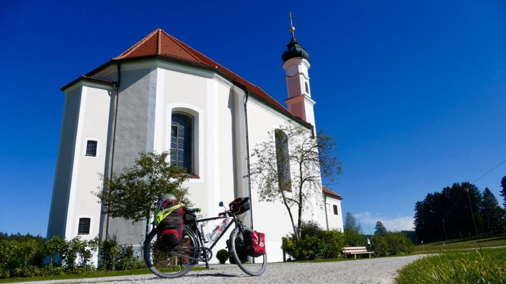 A church in Upper Bavaria, Germany