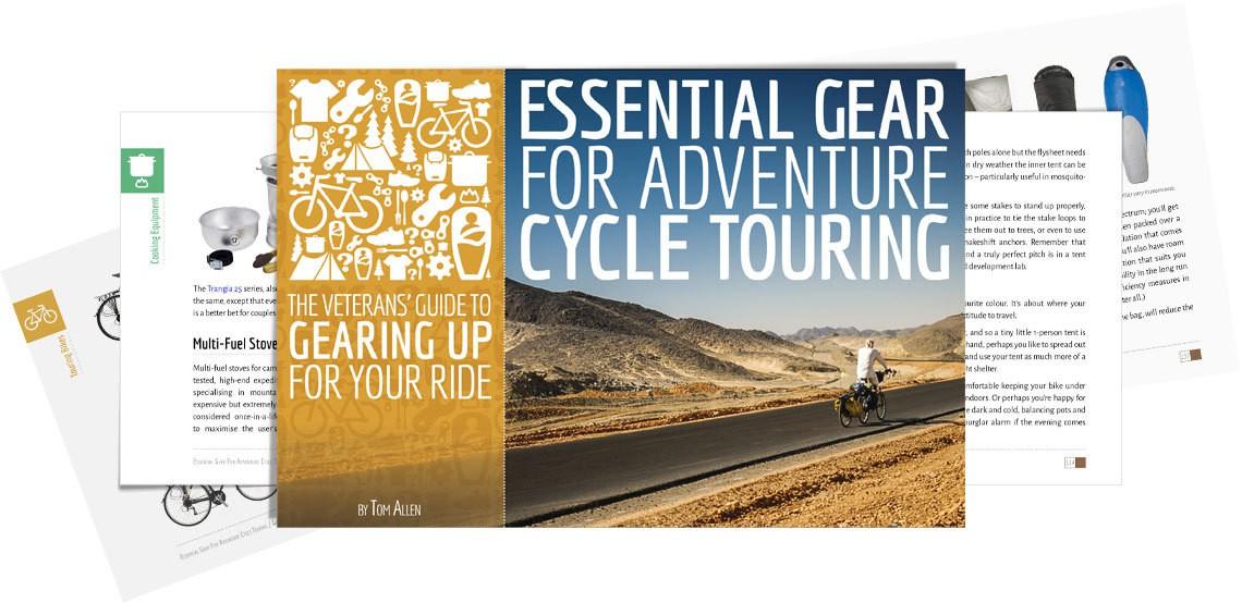 Ein Buch für Reiseradler (auf Englisch)
